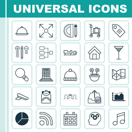 crotchets: Set Of 25 Universal Editable Icons. Can Be Used For Web, Mobile And App Design. Includes Elements Such As Decision Making, Crotchets, Wifi And More.