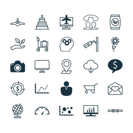 rubbish cart: Set Of 25 Universal Editable Icons. Can Be Used For Web, Mobile And App Design. Includes Elements Such As Dessert, Business Deal, Video Surveillance And More.