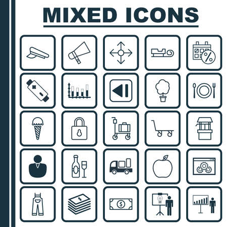 a cudgel: Set Of 25 Universal Editable Icons. Can Be Used For Web, Mobile And App Design. Includes Elements Such As Account, Cop Cap, Delivery And More.