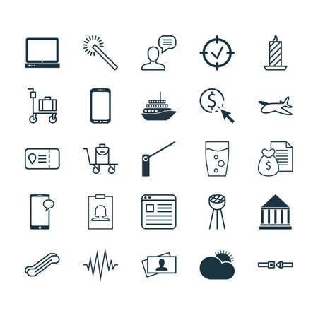 smart card: Set Of 25 Universal Editable Icons. Can Be Used For Web, Mobile And App Design. Includes Elements Such As Stair Lift, Sunny Weather, Fire Wax And More.