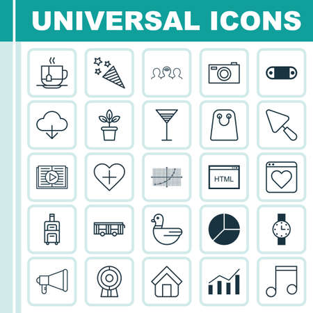rating: Set Of 25 Universal Editable Icons. Can Be Used For Web, Mobile And App Design. Includes Elements Such As Save Data, Digital Camera, Estate And More. Illustration
