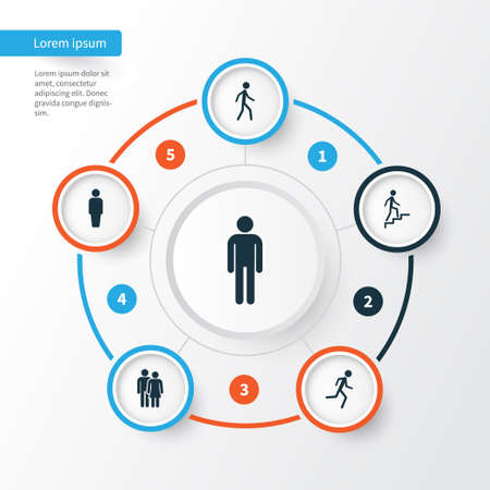 insider: People Icons Set. Collection Of Member, Jogging, Beloveds And Other Elements. Also Includes Symbols Such As Running, Woman, Member. Illustration