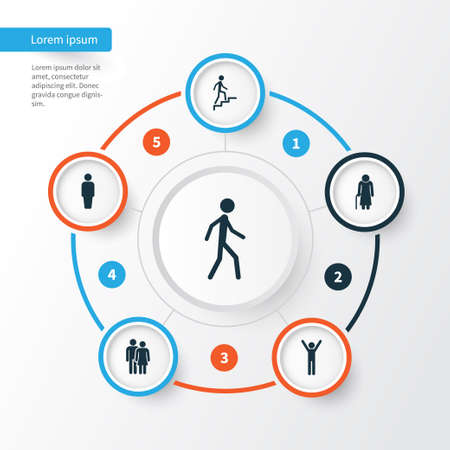 insider: People Icons Set. Collection Of Beloveds, Member, Jogging And Other Elements. Also Includes Symbols Such As Member, Woman, Rejoicing. Illustration