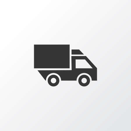 bogie: Truck Icon Symbol. Premium Quality Isolated Van Element In Trendy Style.