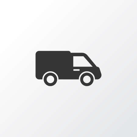 bogie: Lorry Icon Symbol. Premium Quality Isolated Truck Element In Trendy Style. Illustration