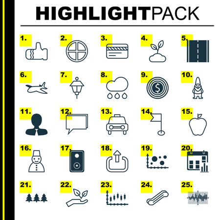 Set Of 25 Universal Editable Icons. Can Be Used For Web, Mobile And App Design. Includes Elements Such As Comparison, Taste Apple, Manager And More.