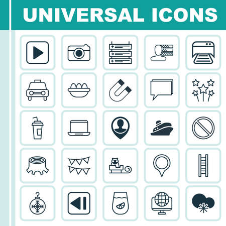 briefing: Set Of 25 Universal Editable Icons. Can Be Used For Web, Mobile And App Design. Includes Elements Such As Employee Location, Tree Toy, Obstacle And More.