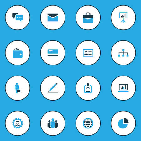 sheath: Business Colorful Icons Set. Collection Of Globe, Badge, Local Area And Other Elements. Also Includes Symbols Such As Network, Unity, Analytics.