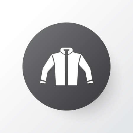 Jacket Icon Symbol. Premium Quality Isolated Cardigan Element In Trendy Style.