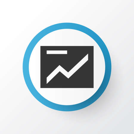 Presentation Icon Symbol. Premium Quality Isolated Chart Element In Trendy Style. Ilustrace