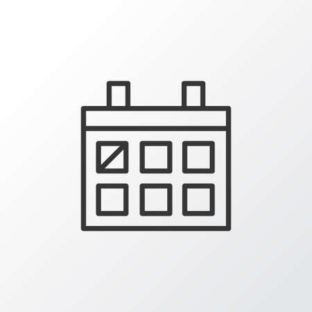 almanac: Almanac Icon Symbol