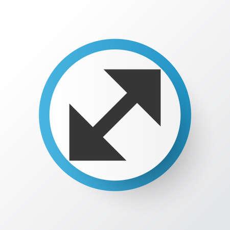 shrink: Resize Icon Symbol. Premium Quality Isolated Change Element In Trendy Style.
