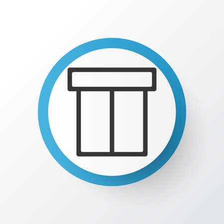 Package Icon Symbol. Premium Quality Isolated Box Element In Trendy Style.
