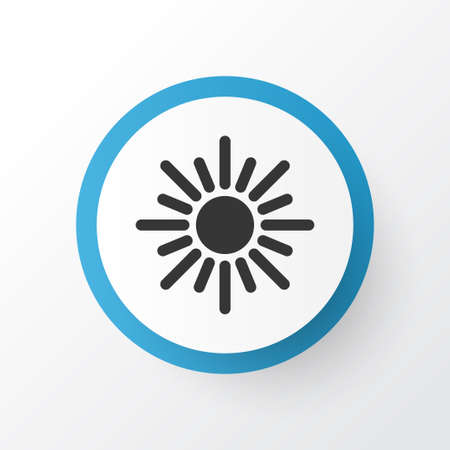 Dhuhr Icon Symbol. Premium Quality Isolated Midday Element In Trendy Style.