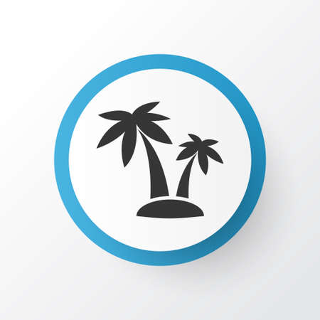 Palms Icon Symbol. Premium Quality Isolated Tree Element In Trendy Style.