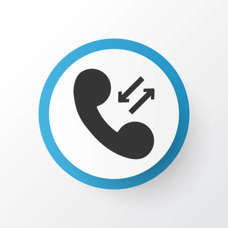 Phone Icon Symbol. Premium Quality Isolated Call Element In Trendy Style.