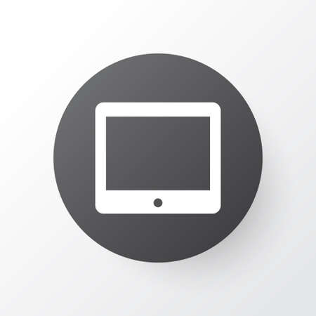 palmtop: Premium Quality Isolated Palmtop Element In Trendy Style.  Tablet Icon Symbol. Illustration
