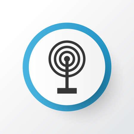 Broadcast Icon Symbol Illustration