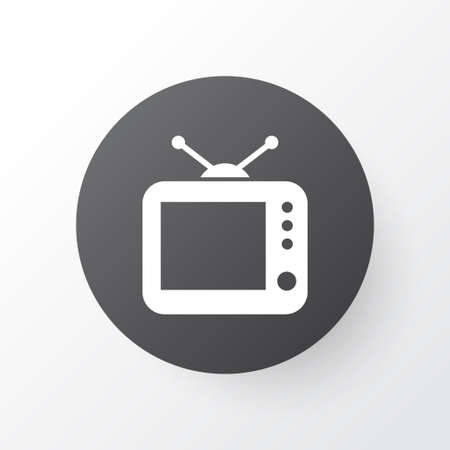 Old TV model icon.