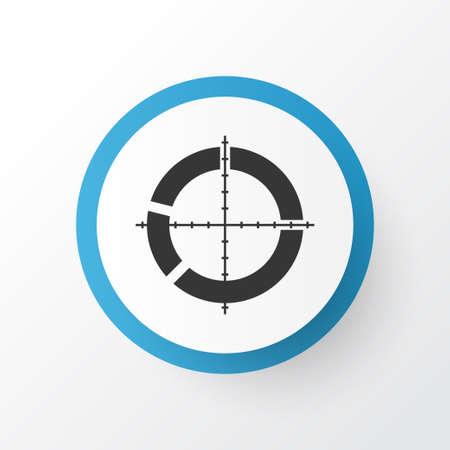 Target icon symbol.