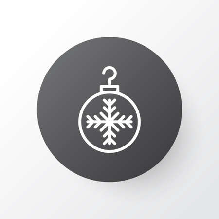 twigs: Premium Quality Isolated Tree Toy Element In Trendy Style.  Christmas Ball Icon Symbol.