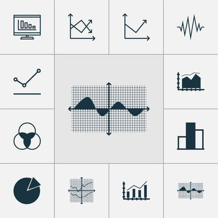 relational: Set Of Graphs, Diagrams And Statistics Icons. Premium Quality Symbol Collection. Icons Can Be Used For Web, App And UI Design. Illustration