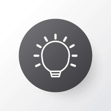 Big Idea Icon Symbol. Premium Quality Isolated Great Glimpse Element In Trendy Style. Ilustração