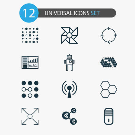 dashboard: Learning Icons Set