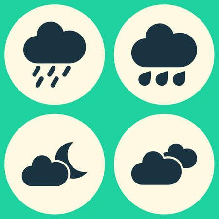 rainbow: Air Icons Set.