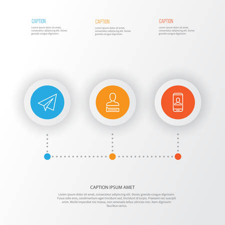 phone: Communication Icons Set. Collection Of Communication, Privacy Information, Startup And Other Elements Illustration