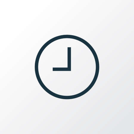 プレミアム品質は、トレンディなスタイルで待機要素を分離しました。 アウトライン記号を見ます。