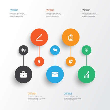 Job Icons Set Illustration