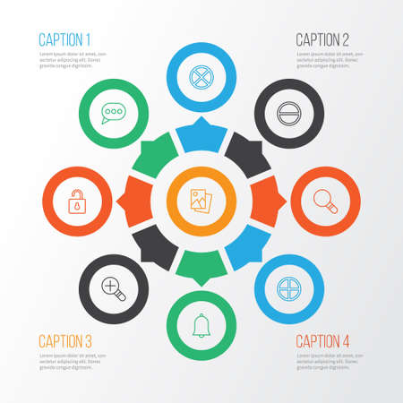 wap: Network Icons Set. Collection Of Exit, Refuse, Positive And Other Elements Illustration