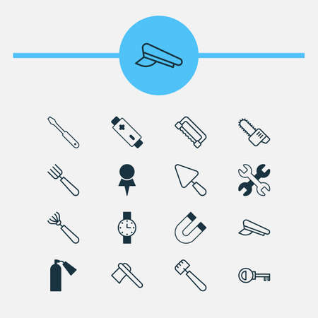 rejection: Tools Icons Set