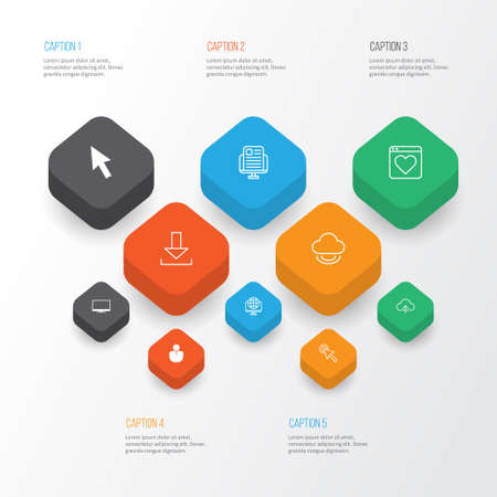 wap: Web icons set.