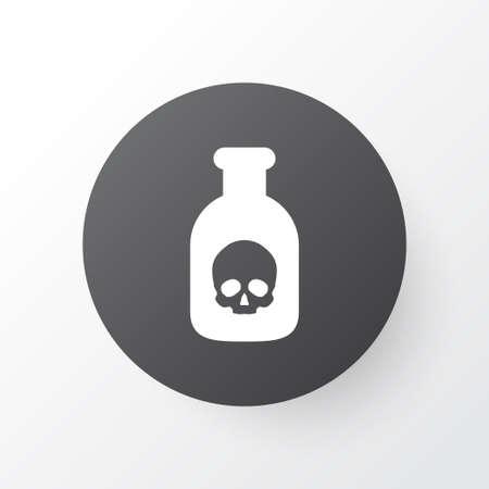 Poison icon symbol