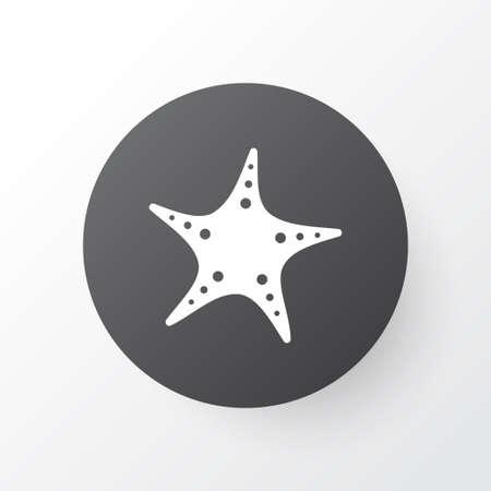 Starfish icon symbol. Premium quality isolated sea star element in trendy style. Ilustrace