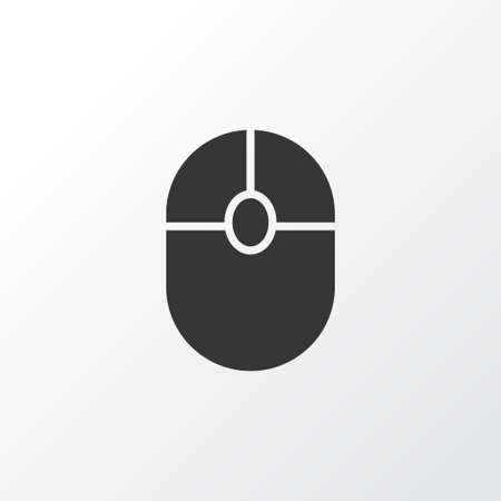 Mouse icon symbol. Premium quality isolated click element in trendy style.