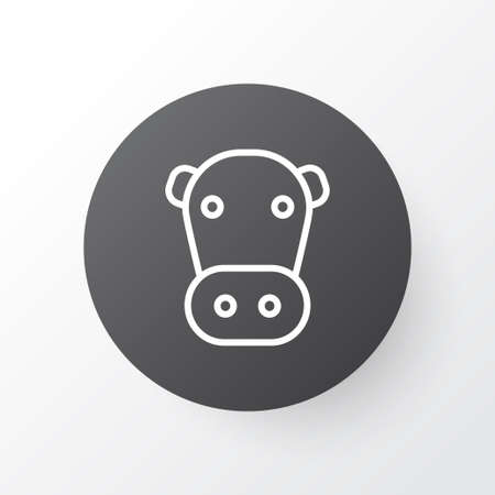 Cow icon symbol. Premium quality isolated kine element in trendy style. Reklamní fotografie