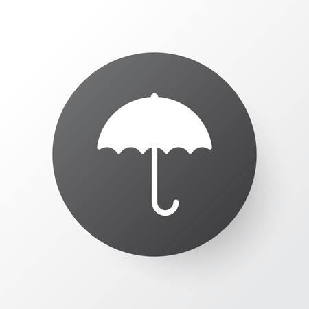 Umbrella icon symbol. Premium quality isolated gingham element in trendy style.