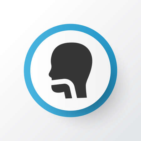 Oral cavity icon symbol. Premium quality isolated breath element in trendy style. 写真素材 - 111740490