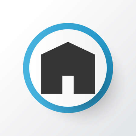 House icon symbol. Premium quality isolated home element in trendy style.  イラスト・ベクター素材