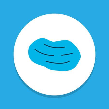 Potato icon colored symbol. Premium quality isolated tuber element in trendy style.