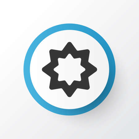 Rub el hizb icon symbol. Premium quality isolated octagonal star element in trendy style.