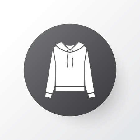 Sweatshirt icon symbol. Premium quality isolated pullover element in trendy style.