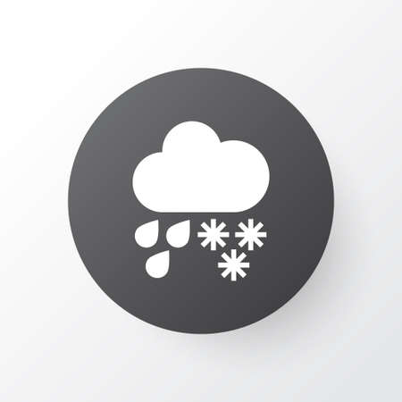 Hail icon symbol. Premium quality isolated drizzle element in trendy style. Stock fotó