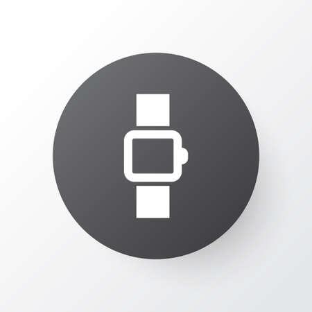 Smart watch icon symbol. Premium quality isolated wearable element in trendy style.