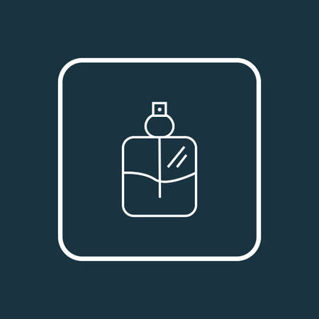 Cologne spray icon line symbol. Premium quality isolated perfume element in trendy style. Illustration
