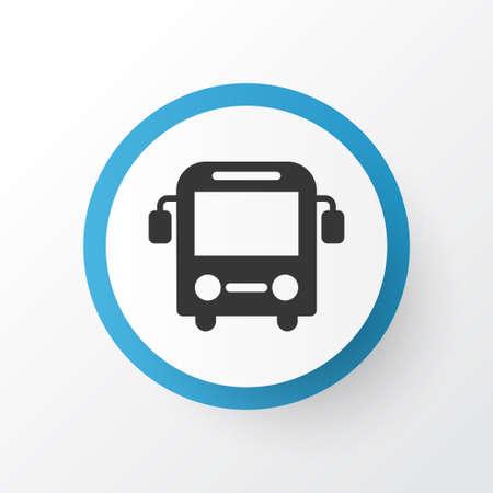 Bus icon symbol. Premium quality isolated autobus element in trendy style.