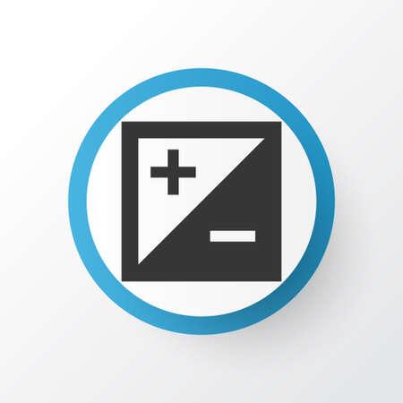 Exposure icon symbol. Premium quality isolated mode element in trendy style.